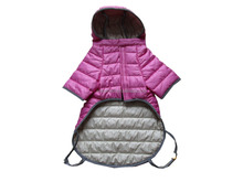 Dog winter clothes fashion hoody dog down jacket