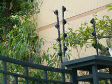 Alarm house Electric fences with high voltage fence charger for anti-thief