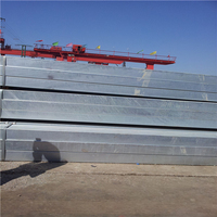 1 inch Hot Dipped Galvanized Steel Square Tubes