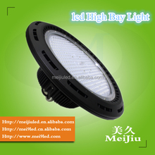 Factory warehouse Lamp 100w ufo led high bay light 5 years MeanWell Driver