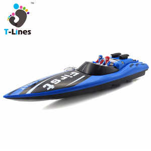 Kids toys remote model rc boat kits with battery