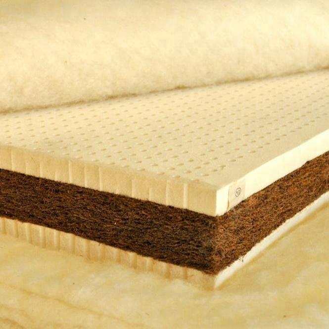 China supplier top quality palm fiber mattress 100% latex coconut coir mattress customized - Jozy Mattress | Jozy.net