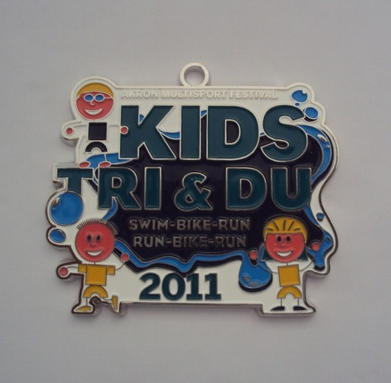 Custom award running medals for kids