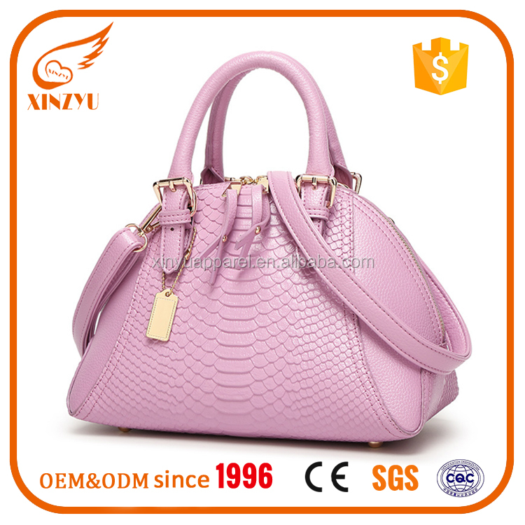 Genuine Leather Handbag Elegant Tote Bag Ladies Shoulder Bags