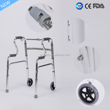 lightweight Disable Walking Aids foldable rollator walker with CE / FDA