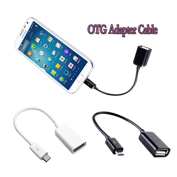 Micro USB Host Cable Male to USB Female OTG Adapter for Android Tablet PC and Phone