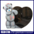 Black granite teddy bear headstone for children