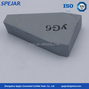 YG6 YG8 brazed cemented carbide tips for wholesale