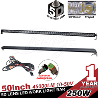 50 Inch 250w Off Road Wholesale Led Light for Car Lighting