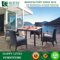 Rattan Outdoor Furniture Teak Dining Chair HL-6037
