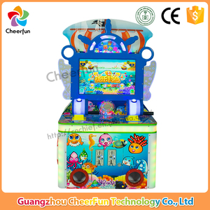 Indoor amusement game simulator coin operated 2 players arcade electronic redemption fishing game machine