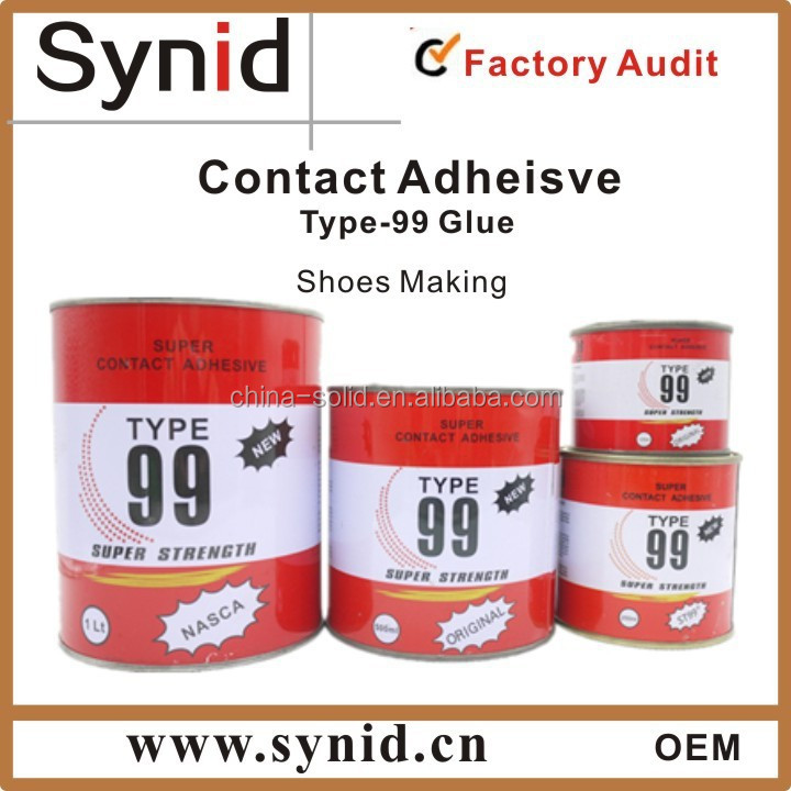 TYPE 99 Neoprene Contact glue adhesive for shoe making in African