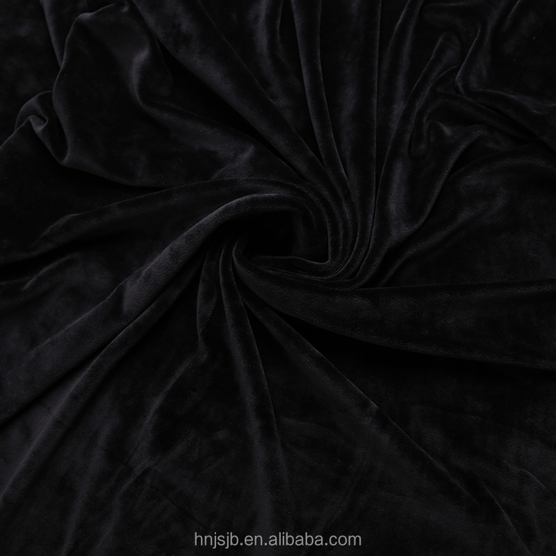 Wholesale China 2016 China supplier polyester spandex fabric lining fabric for cloth super soft blanket