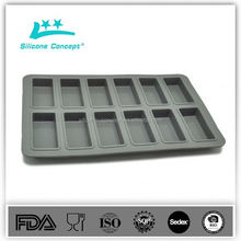 Eco-friendly Silicone Bean Ice Cube Tray