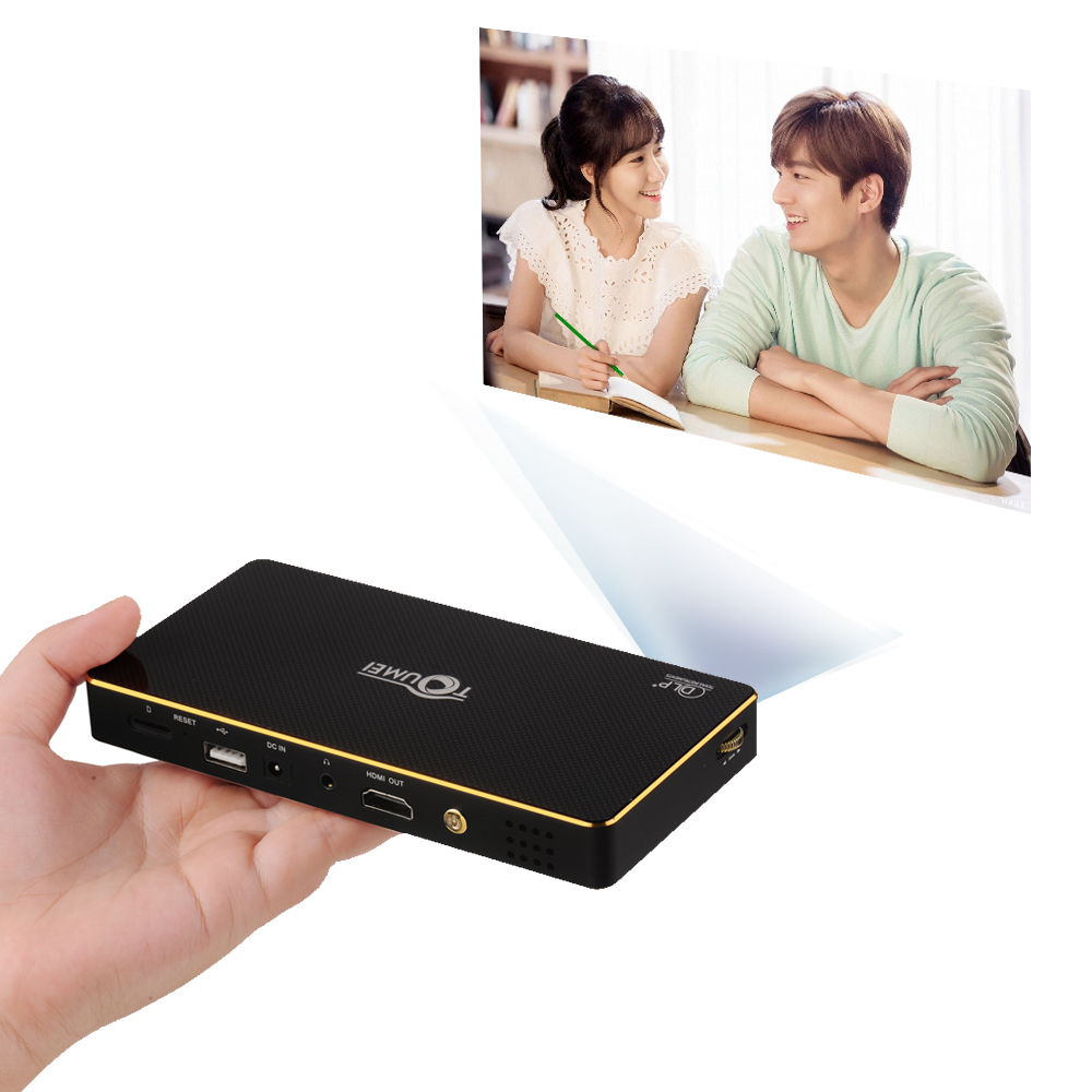2017 Best Selling Productc800s Mini Projector Toumei C800s Projector Android 4.4.4 Bluetooth 4.0 Wifi 2.4g/5g Ddr3 1g 8g C800s