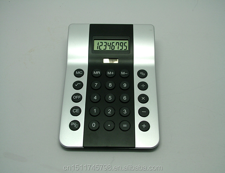 Hui Zhou Technology promotional gifts plastic Desktop calculator
