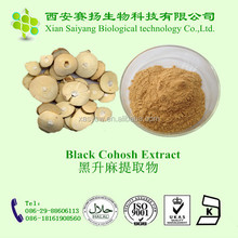 100% Natural Black Cohosh P.E. Powder,black cohosh powder
