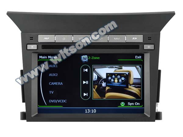 WITSON FOR HONDA PILOT 2013 CAR RADIO NAVIGATION with iPhone ready