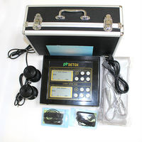 double heads detox foot spa(massage+infrared ray) for two people