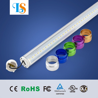 self ballasted 8ft 2.4m t8/t12 led tube light lamp 35w 38w 40w 44w 45w tube 8 china/arab