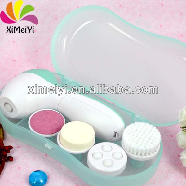 2015 Electronic Facial Brush Beauty Battery Operated Vibration Cleansing Brush