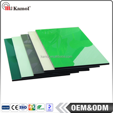 Latest building materials gloss wall cladding panel aluminum composite panel bending machine