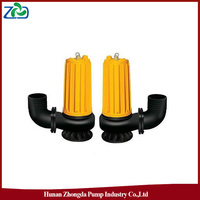 CN ZHONGDA WQ Series Low Pressure Low Energy Single-Stage Submersible Centrifugal Sewage Waste Water Pump