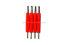 dual automtive tire valve core tire weight removal tool