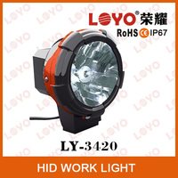 4 inch offroad HID work lamp, HID project work light, Auto driving searchlight
