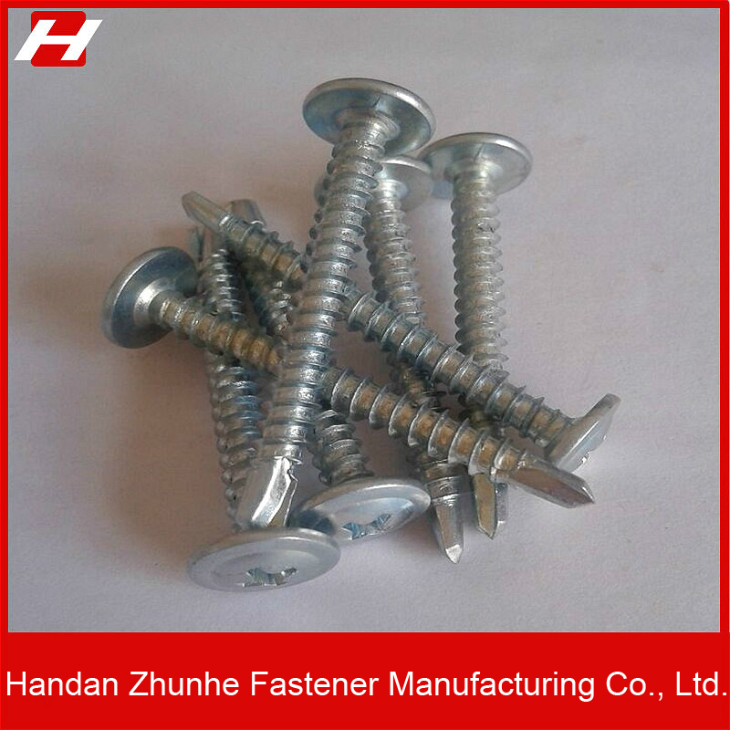 Metal Self Drill Tapping Screws Phillips Pan head with washer