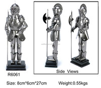 metal medieval warriors sculpture,pewter ancient warriors figurines