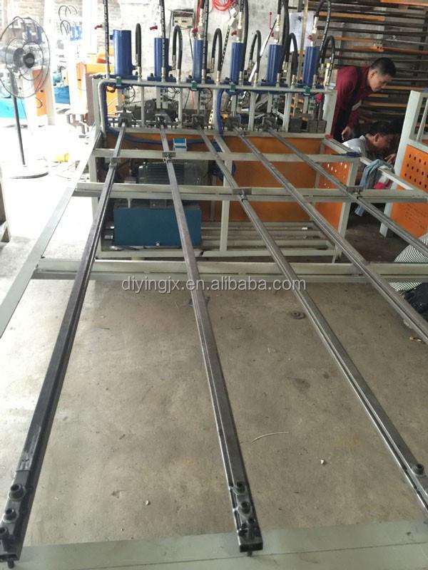 Hydraulic Round Steel Pipe Punching Machine / Steel Tube Punching Machine