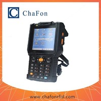 RFID industrial-grade handheld barcode reader with rfid windows mobile