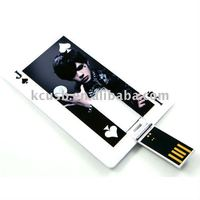 people image oem gifts plastic credit card usb flash drives