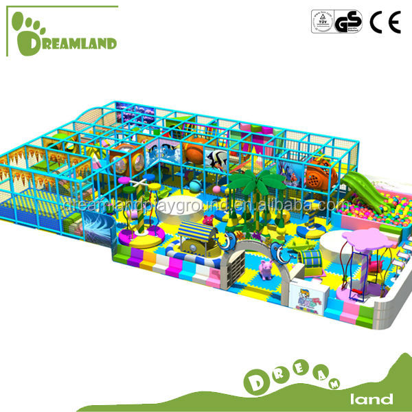China manufacturer daycare center kids commercial indoor soft play playground equipment for play center sale