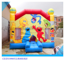 factory outlet Custom giant jumping bouncy sesame street inflatable bouncer for sale