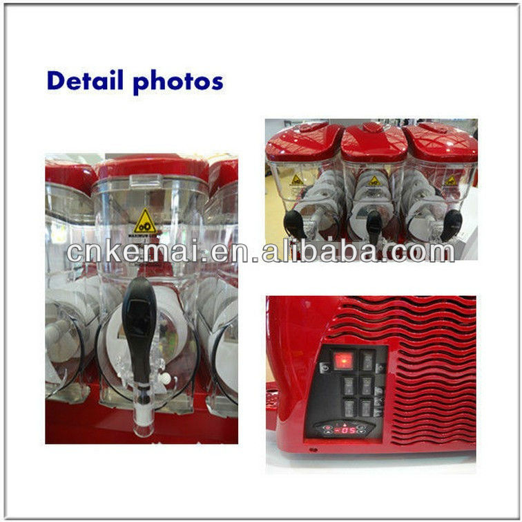 Italy design hot selling high quality commercial new design slush machine for sale