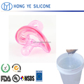 Liquid food grade silicone rubber for baby nipples