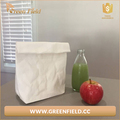 lunch bag washable paper insulated lunch tote bag