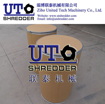 paper barrel shredder/ Double Shaft Shredder/ Twin Shaft Shredder / Two Rollers Shredder/ Plastic Shredder