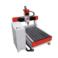 looking for agent mini pvc wood cnc router machining 6090 for copper aluminum