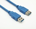 High speed 3.0 version USB extension cable AM TO AF FOC PVC material