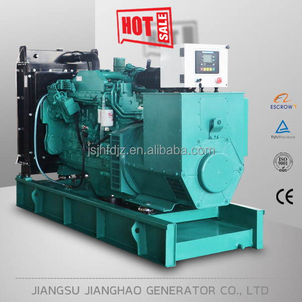 3phase 50hz 275 kva diesel generator 220kw with Cummins diesel engine 6LTAA8.9