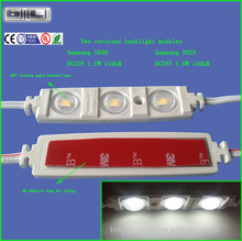 UL IP67 2323 5630 3014 2835 160 viewing angle Aluminium PCB+screw hole+ABS casing Samsung Super led 12V led module