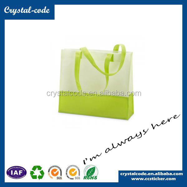 Good Durability Non-woven Drawstring Packing pp Wine Bottle Bag
