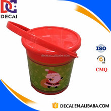 High Quality Heat Transfer Film for Christmas Printed Candy Plastic Buckets