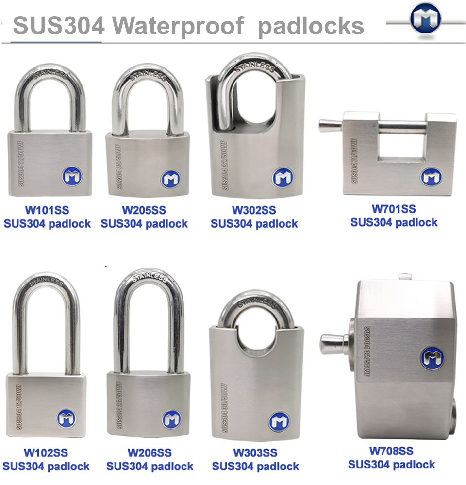MOK locks W71/60WF 50mm 60mm 70mm super weatherproof best padlock padlock brands with <strong>key</strong> alike , <strong>key</strong> differ , master <strong>key</strong>