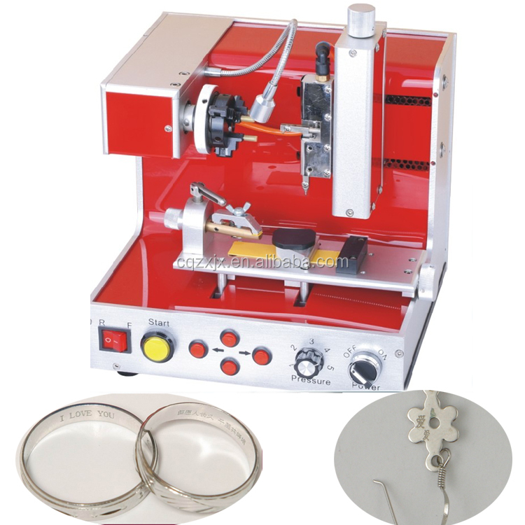 Cheap Electric CNC Stainless Steel Jewelry Engraving Machine