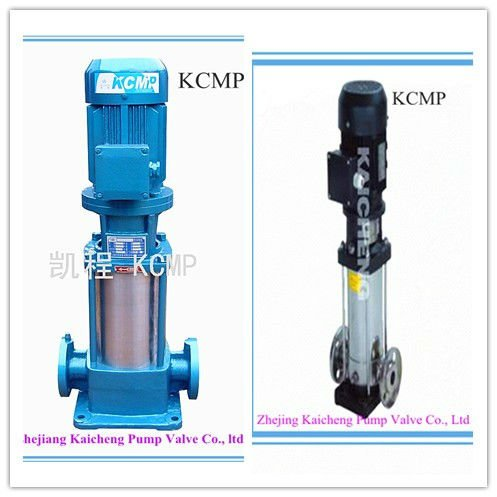 Multistage centrifugal high pressure water pump