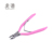 Hongstars Pink Plastic Carbon Steel Trim Cuticle Nipper